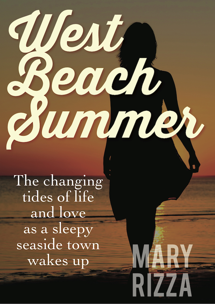 WEST BEACH SUMMER BY MARY RIZZA IS AVAILABLE WORLDWIDE AT AMAZON. CLICK ON THE COVER OR THIS LINK TO SEE THE BOOK IN YOUR LOCAL AMAZON STORE.