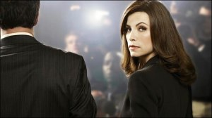 Julianna Margulies as Alicia Florrick in The Good Wife is a study in contradicting complexity.
