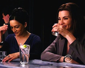 Alicia Florrick and Kalinda in The Good Wife