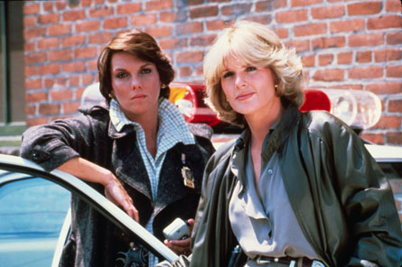 Precinct pioneers: Christine Cagney (right) and Mary-Beth Lacey set the pace for female TV cops.