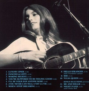 Emmylou Harris was the first to cover Pancho and Lefty on her 1977 album Luxury Liner