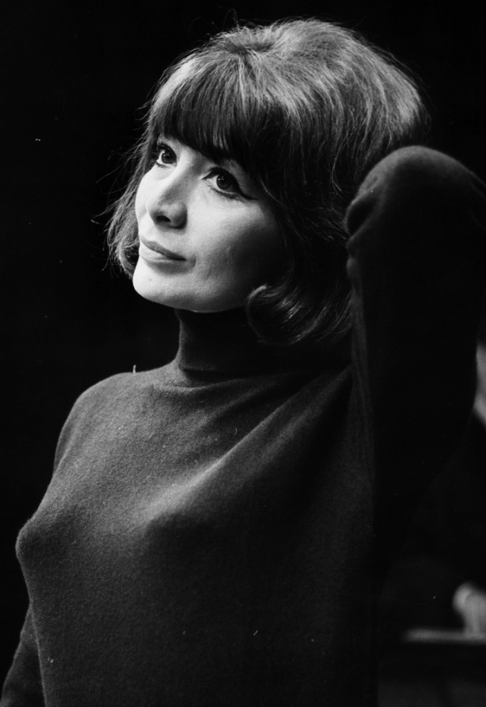 Juliette Greco helped to make the black polo-neck an iconic garment